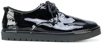 Marsèll varnish finish lace-up shoes