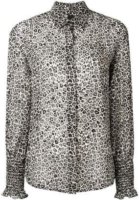 Pinko leopard print shirt
