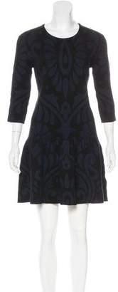 Burberry Silk & Cashmere-Blend Knit Dress