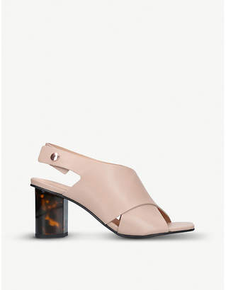 Kurt Geiger London Stride 70 leather sandals