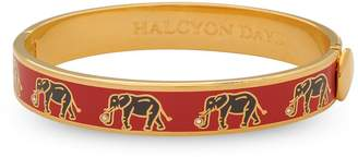 Halcyon Days Gold-Plated Elephant Bangle