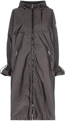 Moncler Washington belted mid-length hooded coat