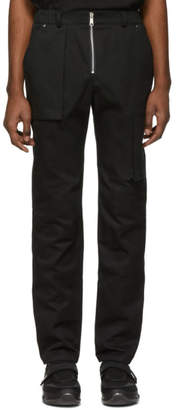 S.P. Badu Black Twill Cargo Pants
