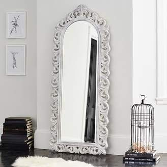 Pottery Barn Teen Ornate Framed Full Length Mirror, 28&rdquo x 67&rdquo