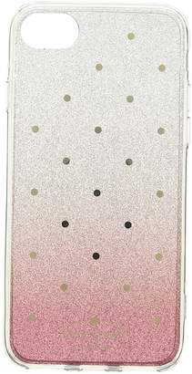 Kate Spade Glitter Ombre Dot Phone Case for iPhone 8 Cell Phone Case
