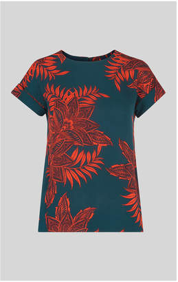 Whistles Palmyra Print Top