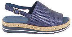 Django & Juliette NEW Womens Heels Adidah Slide Sandal Navy Shoes