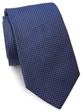 Ralph Lauren Purple Label Textured Silk Tie