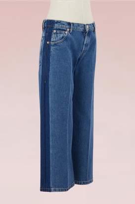 Balenciaga Rockabilly cuffed jeans
