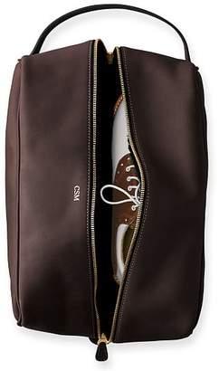Leather Travel Shoe Bag