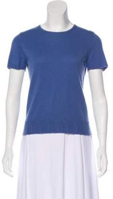 Saks Fifth Avenue Cashmere Short Sleeve Sweater