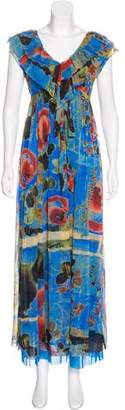Jean Paul Gaultier Soleil Printed Maxi Dress