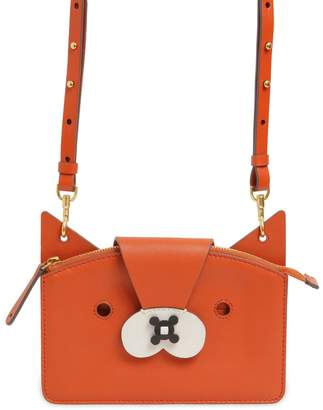Anya Hindmarch Fox Leather Crossbody Bag