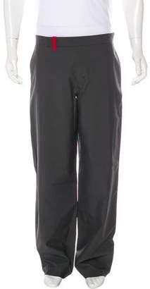 Prada Sport Woven Straight-Leg Pants