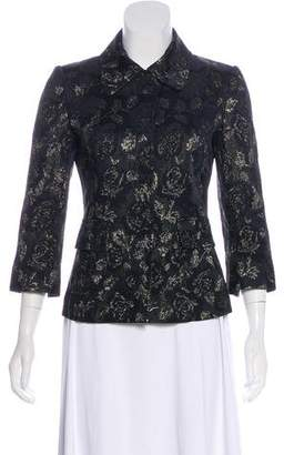 Dolce & Gabbana Metallic Floral Blazer