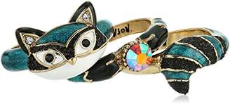 Betsey Johnson Mini Critters Racoon Stackable Ring