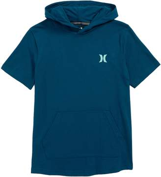 Hurley Bitmapped Logo Hooded T-Shirt