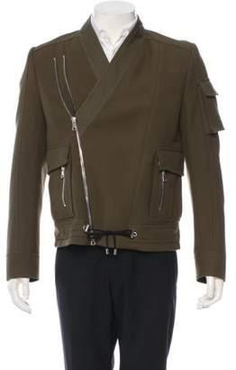 Balmain Wool Utility Jacket