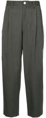 John Undercover high-waisted cropped trousers