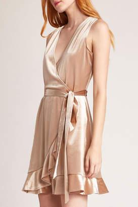 BB Dakota Power Slick Wrap-Dress