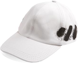 OFF-WHITE Spray-print cap $75 thestylecure.com