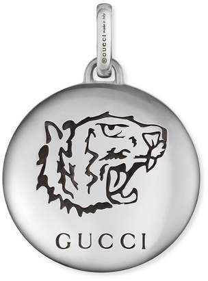 """Gucci """"Blind For Love"""" charm in silver"""