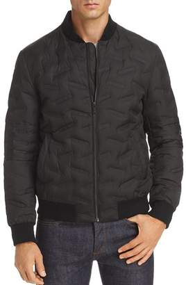 Karl Lagerfeld Paris Novelty-Quilted Bomber Jacket