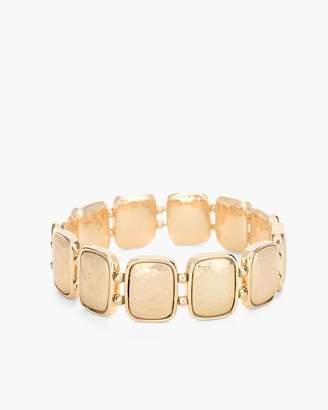 Gold-Tone Statement Stretch Bracelet