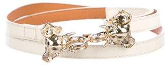 Tory Burch Patent Leather Belt