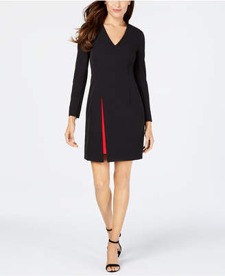 Vince Camuto Contrast-Skirt Bodycon Dress
