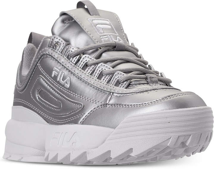 df4a23ef382cb Fila Women Disruptor Ii Premium Metallic Casual Athletic Sneakers from  Finish Line   74.99