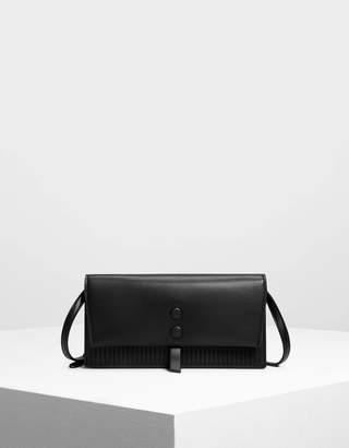 Charles & Keith Topstitch Detail Wallet