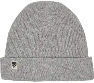 River Island Boys grey ribbed beanie