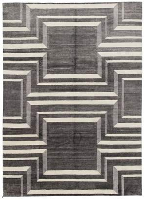 Solo Rugs Modern Magdalene Hand-Knotted Area Rug, 9' x 12' 2""