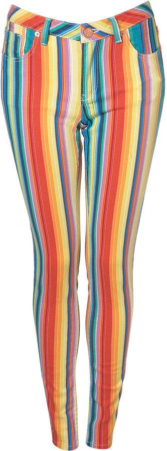 MOTO Stripe Jamie Jeans