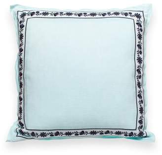 Kate Spade Otami Embroidered Accent Pillow