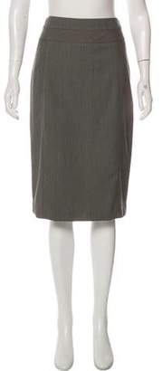 Kenzo Plaid Knee-Length Skirt