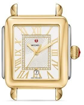 Michele Deco Madison Diamond Watch Head, 33mm x 35mm