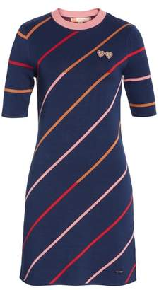 Ted Baker Colour by Numbers Pelinor Stripe Dress
