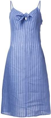 Simon Miller striped tie neck dress