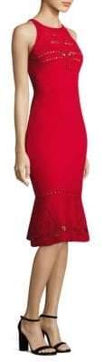 Elie Tahari Lauren Cutout Sweater Dress