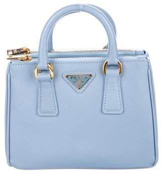 Prada Saffiano Mini Galleria Bag