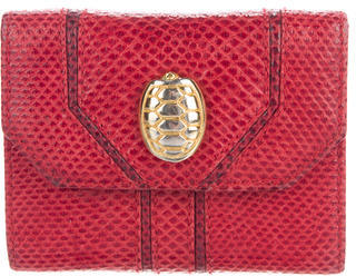 Judith Leiber Karung Mini Compact Wallet $65 thestylecure.com