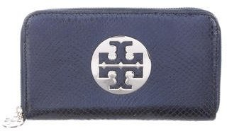 Tory Burch Tory Burch Embossed Leather Wallet