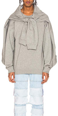 Y/Project Y Project Four Sleeve Sweatshirt