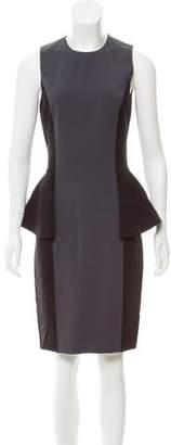 Michael Kors Peplum Wool Dress
