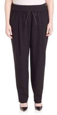 Lafayette 148 New York Barclay Knit-Waist Pants