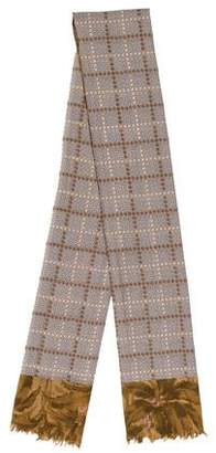 Dries Van Noten Patterned Square Scarf