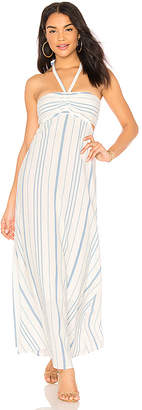 1 STATE Cinched Bodice Maxi Dress