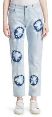 Stella McCartney Boyfriend Tie-Dye Jeans